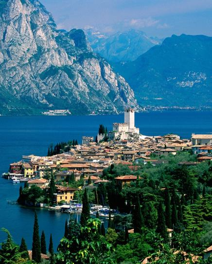 The town of Malcesine