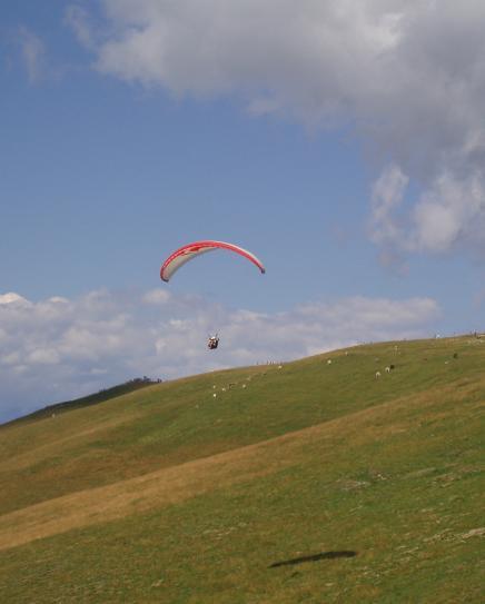 1 km long take-off place...